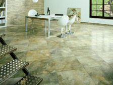 Floor tile sample