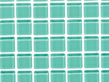 Glass tile sample